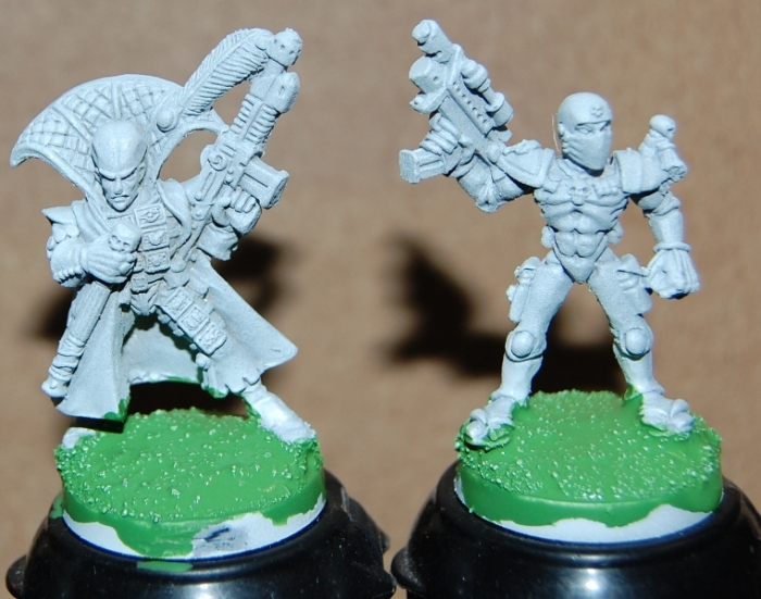 Rogue Trader Miniatures, Sanctioned Psyker and Assasin