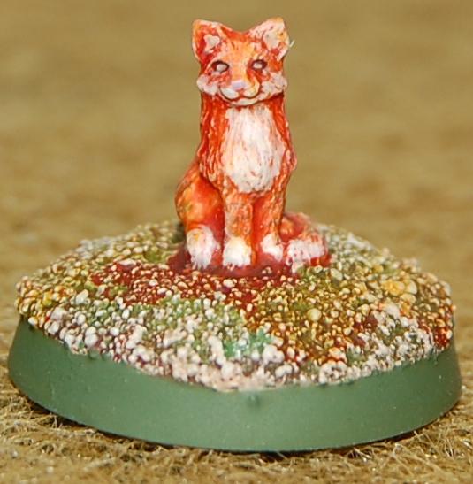 Trim, Bombshell Miniatures Cat