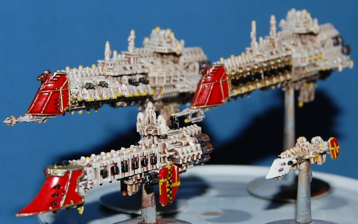 BFG WIP Imperial ships