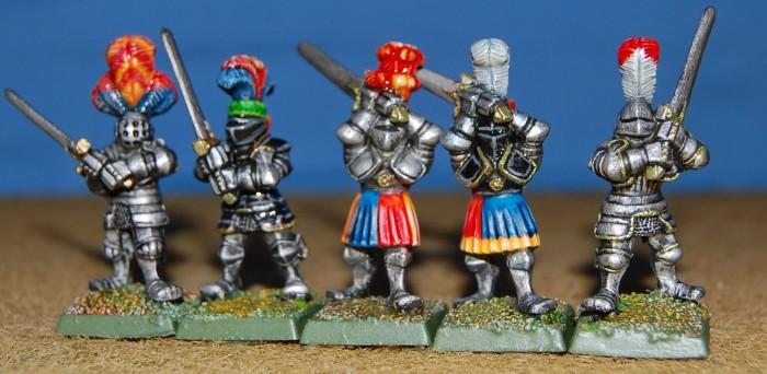 White Knight Minis footknights 2