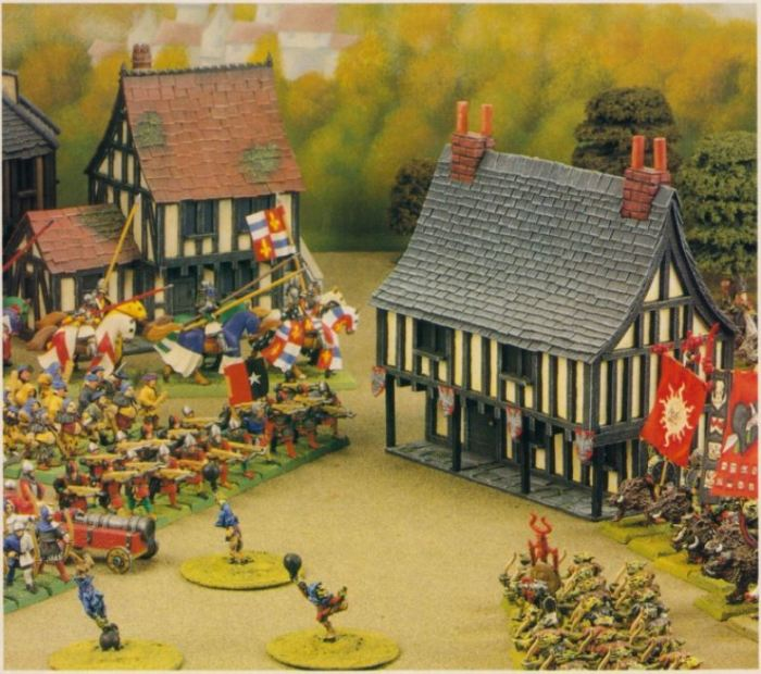 Fantasy townhouse Phil Lewis