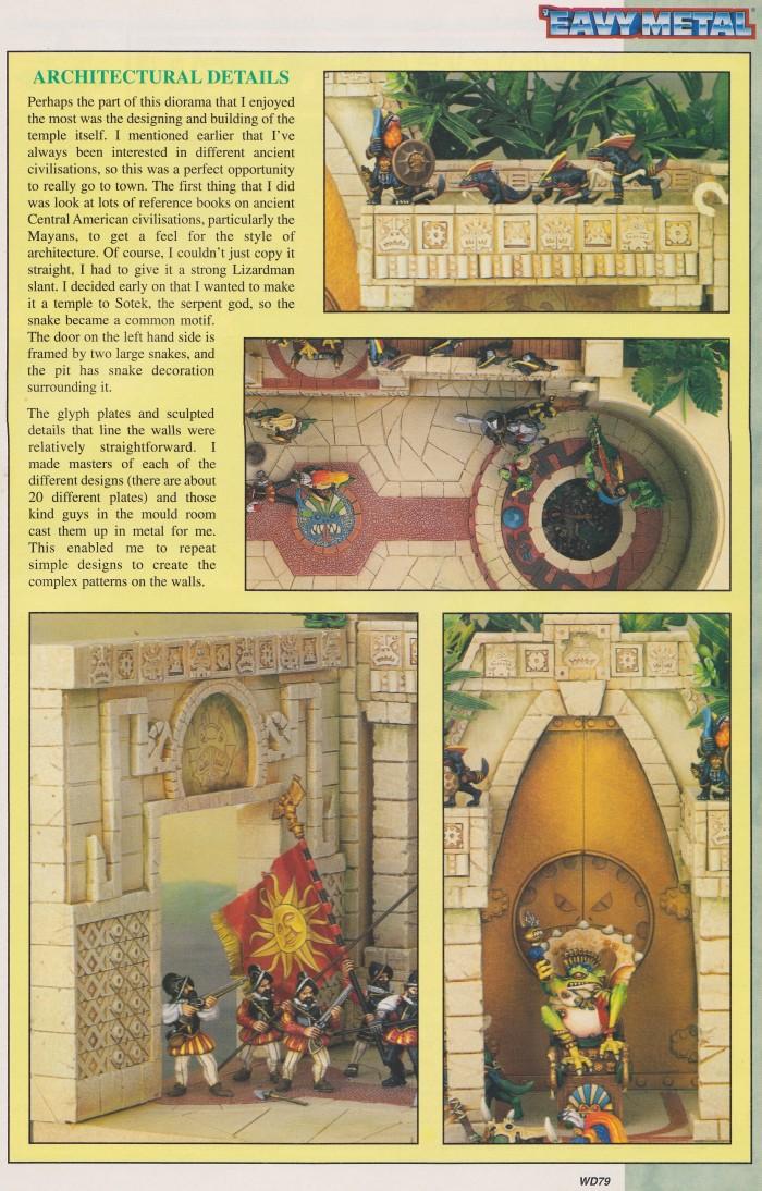 Mike McVey Lizardmen diorama 5 (WD207(Oz))