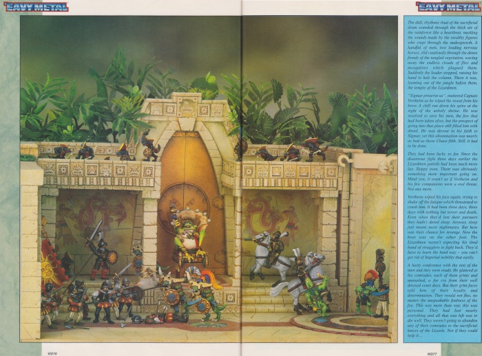 Mike McVey Lizardmen diorama 6 and 7 stitched (WD207(Oz))