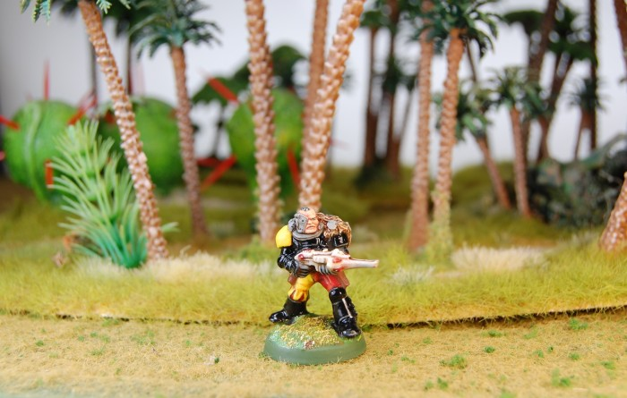 Space Marine Scout with Shuirken Catapult 1