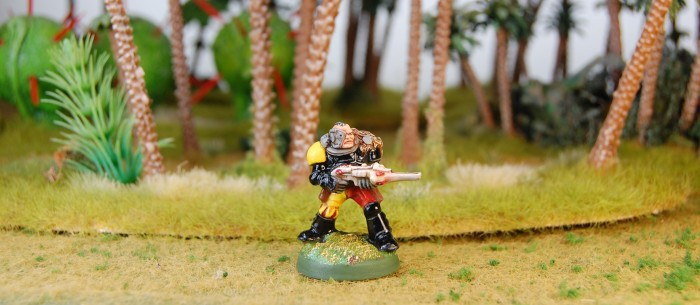 Space Marine Scout with Shuirken Catapult 2