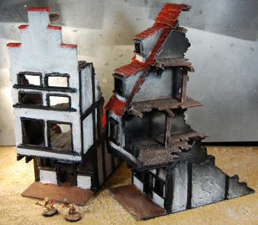 Mordheim buildings 1