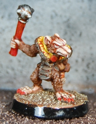 Mordheim Oldhammer Skaven Clanrat close up 1