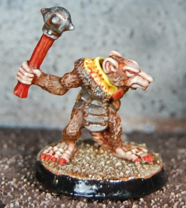 Mordheim Oldhammer Skaven Clanrat close up 2