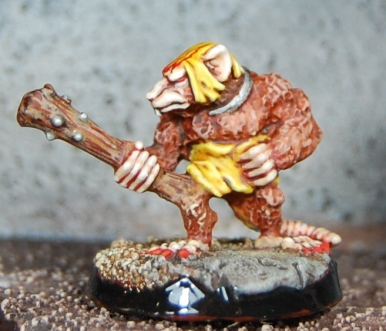Mordheim Oldhammer Skavenslave close up 2