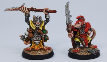 Mordheim Skaven Clan Scrutens black skaven front
