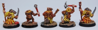 Mordheim Skaven Clan Scrutens clubs and daggers rear