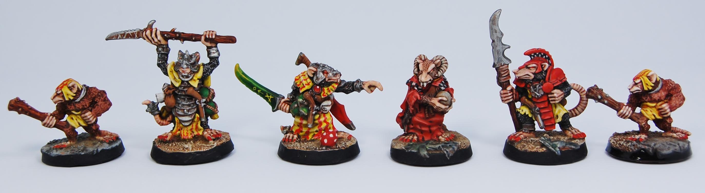 Mordheim Skaven Clan Scrutens Heroes
