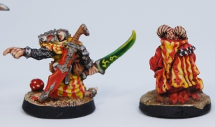Mordheim Skaven Clan Scrutens leaders rear