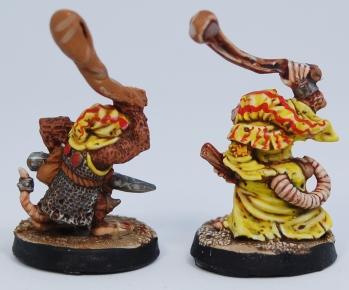 Mordheim Skaven Clan Scrutens slingers rear