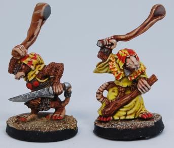 Mordheim Skaven Clan Scrutens slingers