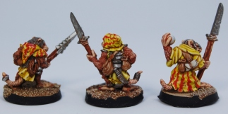 Mordheim Skaven Clan Scrutens spears rear