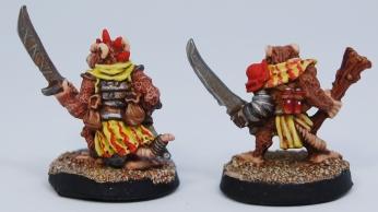Mordheim Skaven Clan Scrutens swords rear