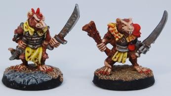 Mordheim Skaven Clan Scrutens swords
