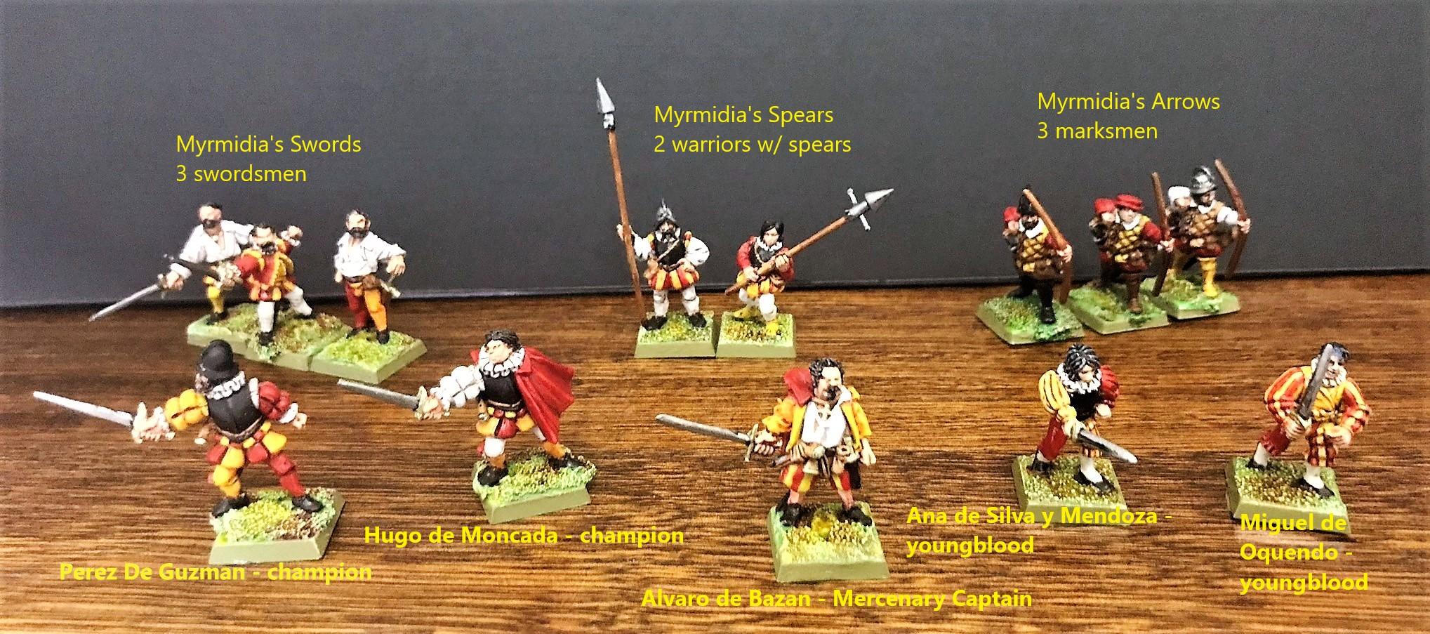 Estalian Armada starting warband