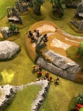 The other swordsman runs through an enemy , and battle gets desperate as the Norse reinforcements get closer!