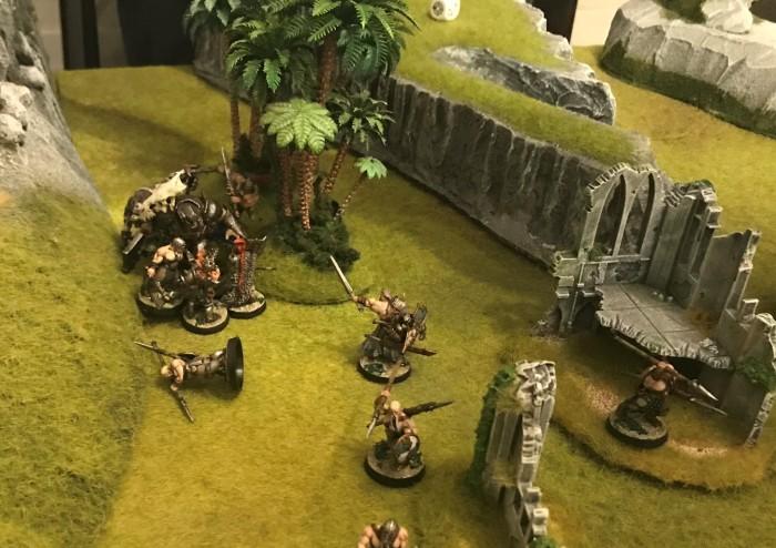 Norse v the daemon beast Belandysh of Tcar