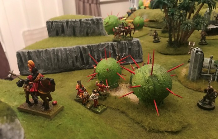 Roadwarden and Estalians ambush Norse Marauders